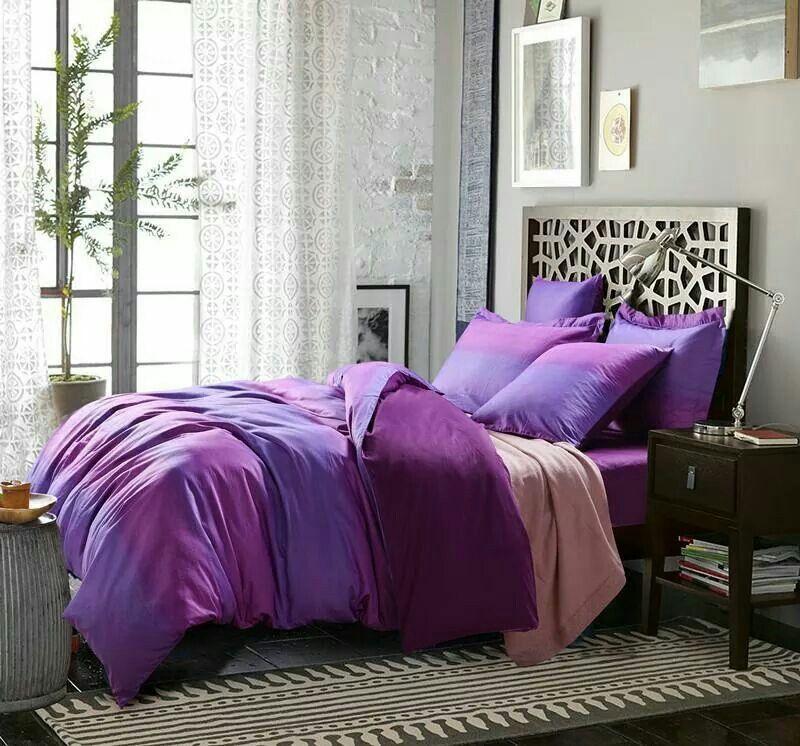 Dormitorios Con Acentos En Morado P�rpura Y Lila: Morado, Magenta, Fiusha...