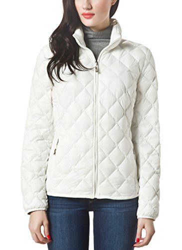 1931d55d9f8 SALE PRICE -  27.99 - XPOSURZONE Women Packable Down Quilted Jacket  Lightweight Puffer Coat