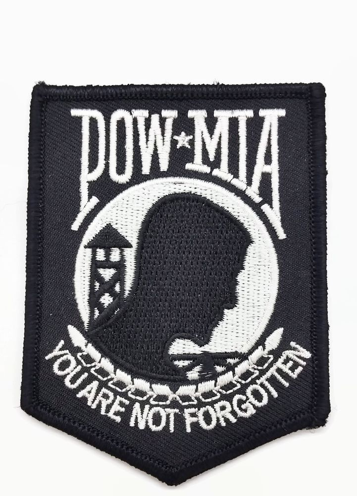 Black And White POWMIA You Are Not Embroidered