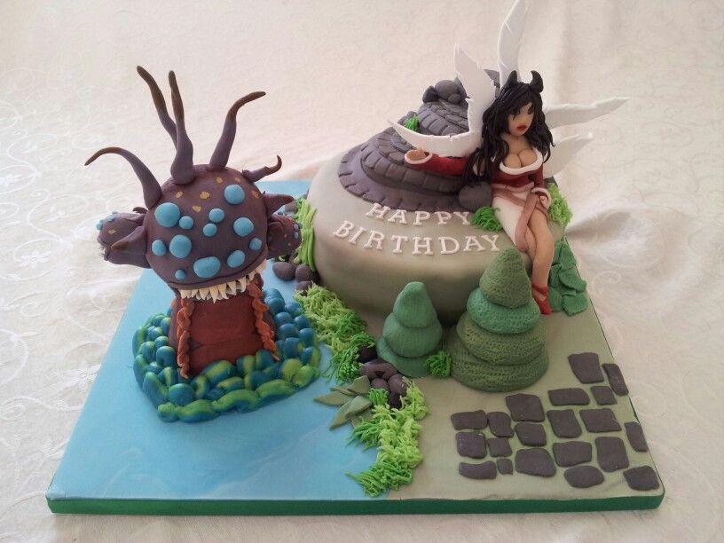 Monster Legends Birthday Cake