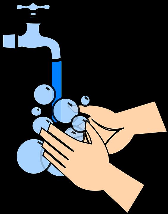 ปักพินในบอร์ด ล้างมือ