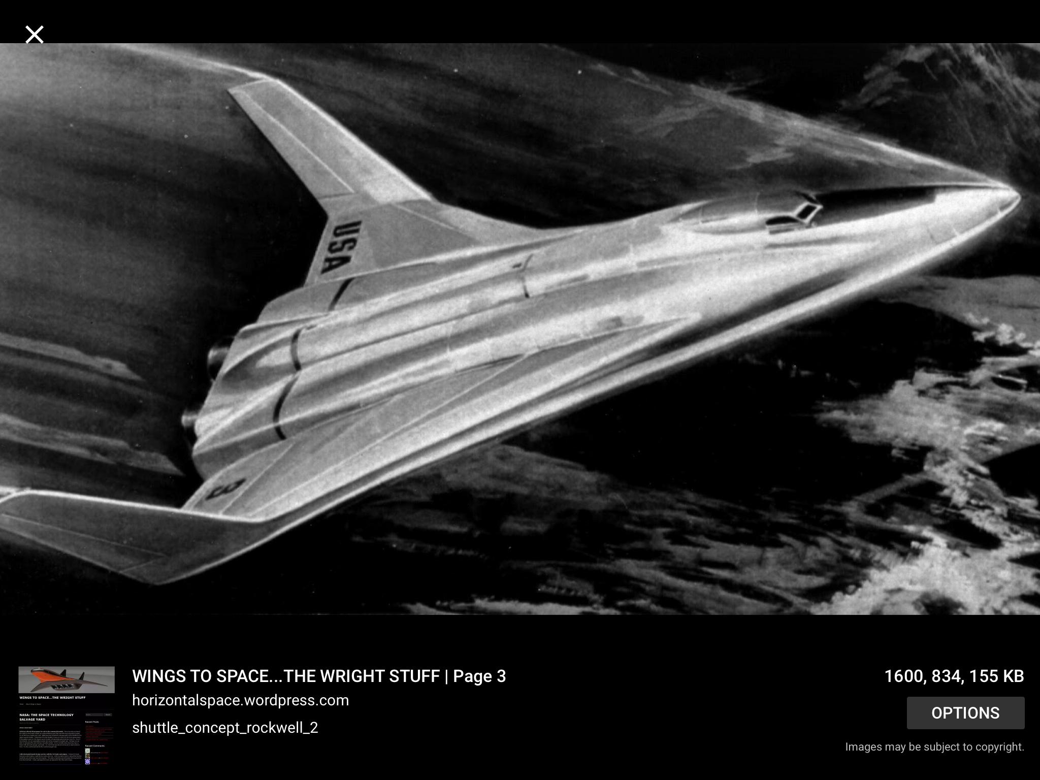 Convair Space Plane concept Aircraft design, Classic sci