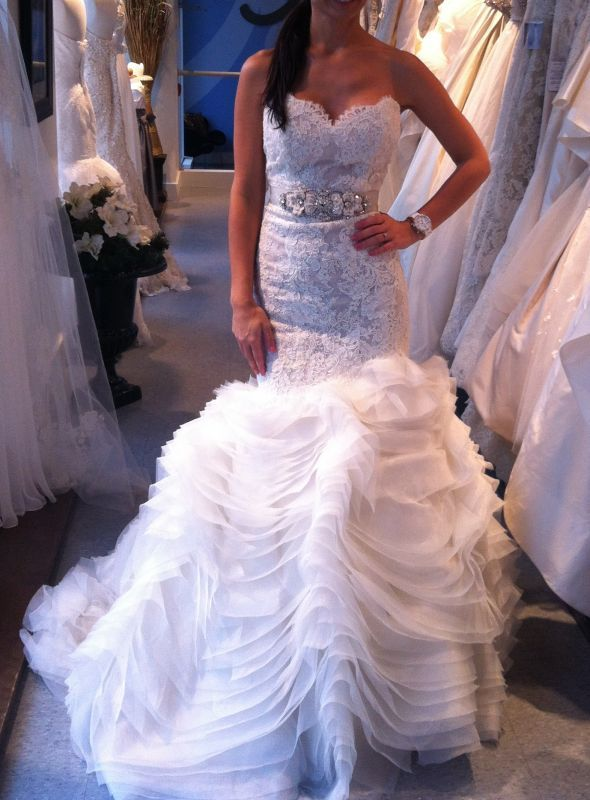 Lazaro 3201 one of my most favorite bridal designers!!! This dress ...