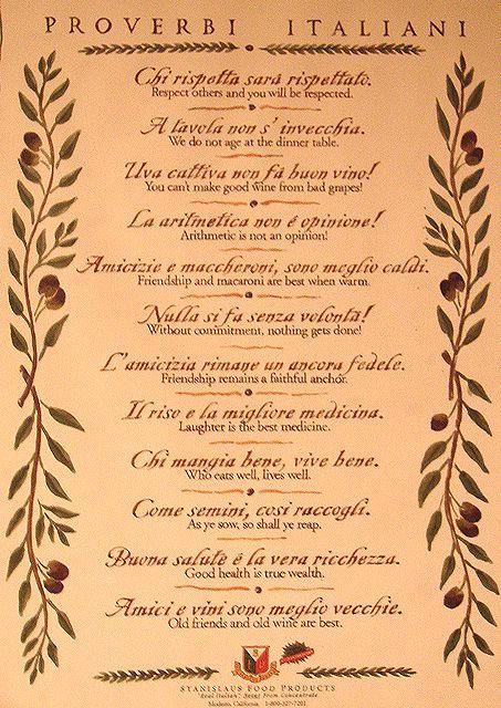 Italian Sayings Google Search Italian Proverbs Italian Words