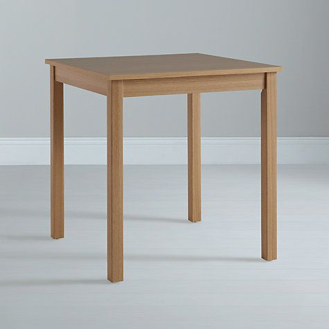 Buy John Lewis The Basics Daisy 2 Seater Dining Table Online At Johnlewis