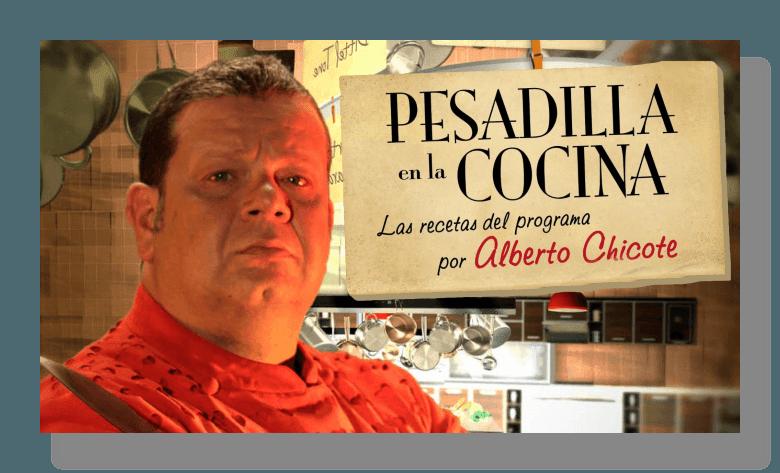 Pesadilla En La Cocina Cadena De Televisión Serie De Television Pesadillas