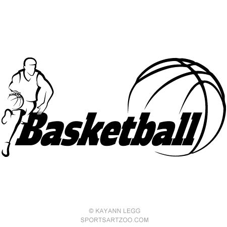 Basketball Dribbling With Word Basketball Sportsartzoo Basketball Dribble Basketball Players Basketball Design