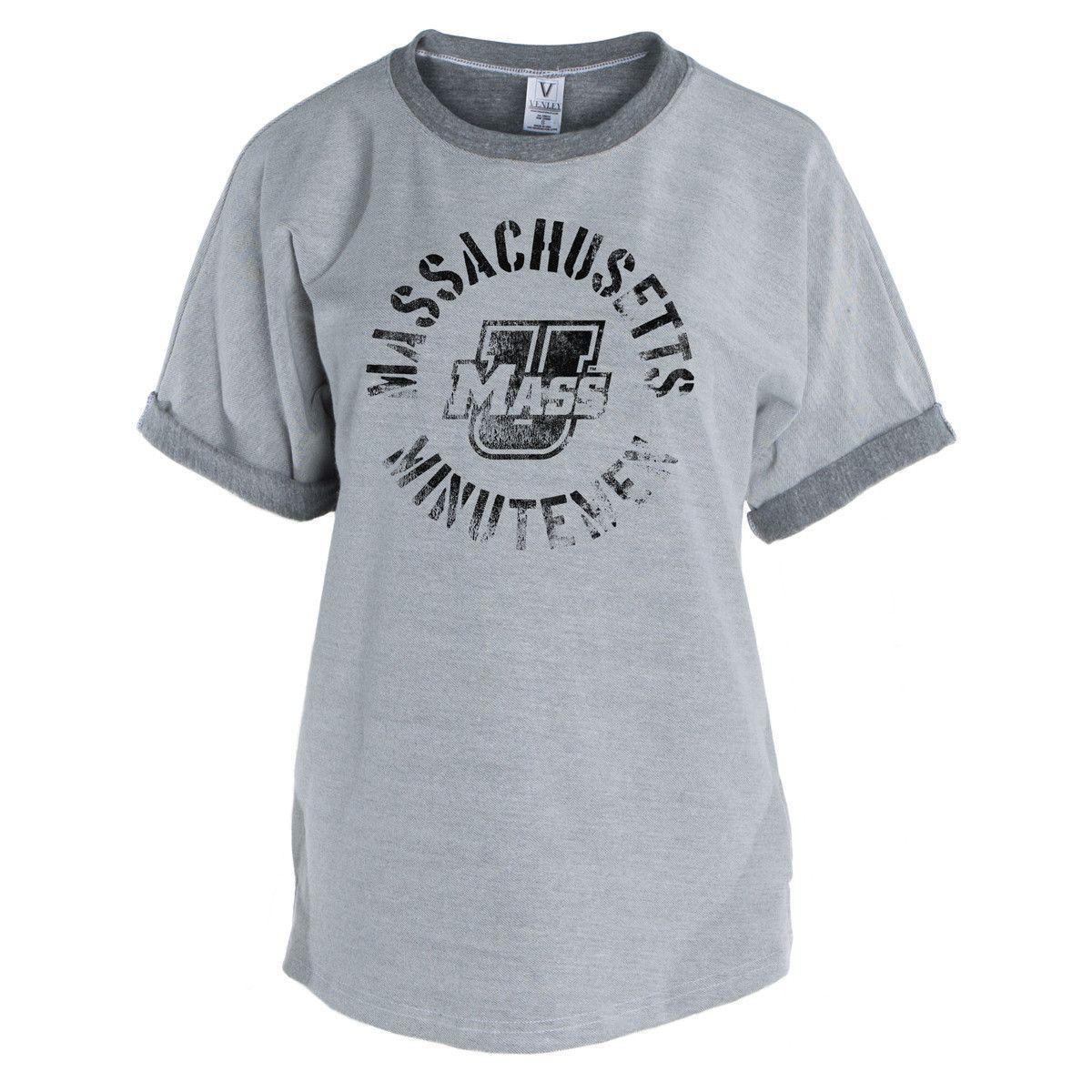 Official Ncaa Umass Minutemen Unisex Tri Blend Short Sleeve T Shirt Shirt Designs Shirts Mens Tops