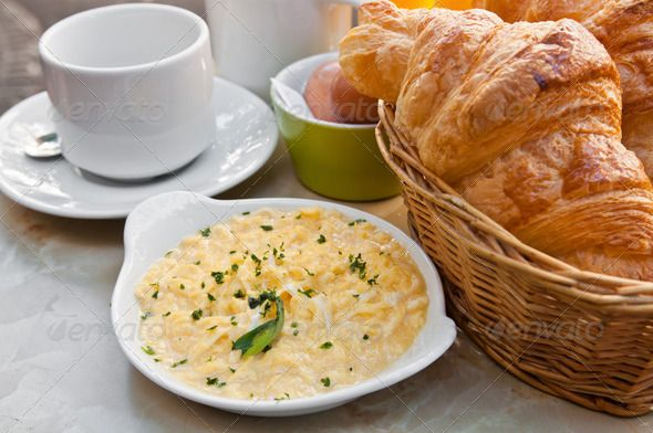 Breakfast ...  bake, bakery, beverage, bread, break, breakfast, bun, butter, buttered, buttery, cafe, caffeine, coffee, croissant, cuisine, cup, drink, eating, espresso, food, french, freshness, golden, heat, hot, life, mocha, morning, object, pastry, roll, saucer, snack, still, sugar, traditionally