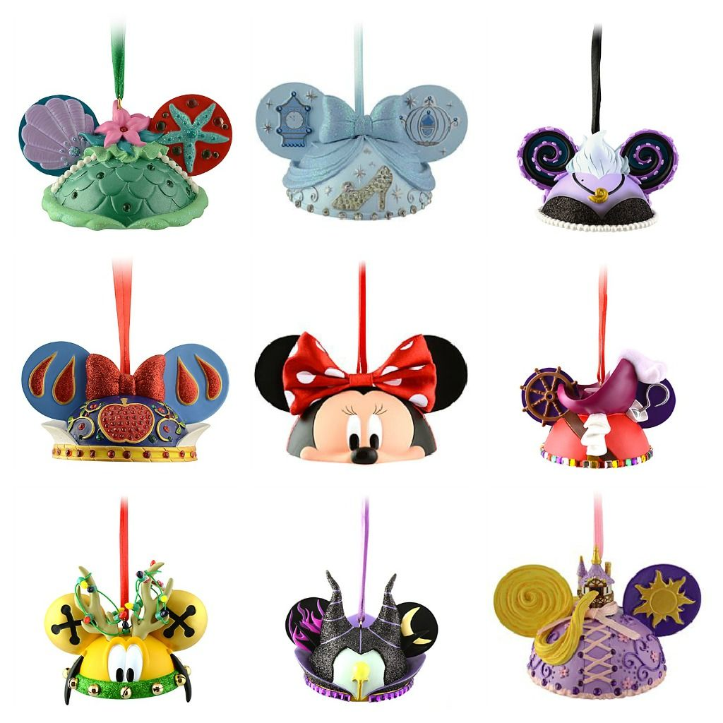 Disney ornament sets - Who Wouldn T Love A Disney Christmas Tree Mickey Ears Ornaments Are Our Favorites