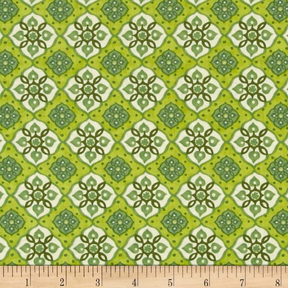 Tree of Life Large Geometric Shapes Olive from @fabricdotcom ...