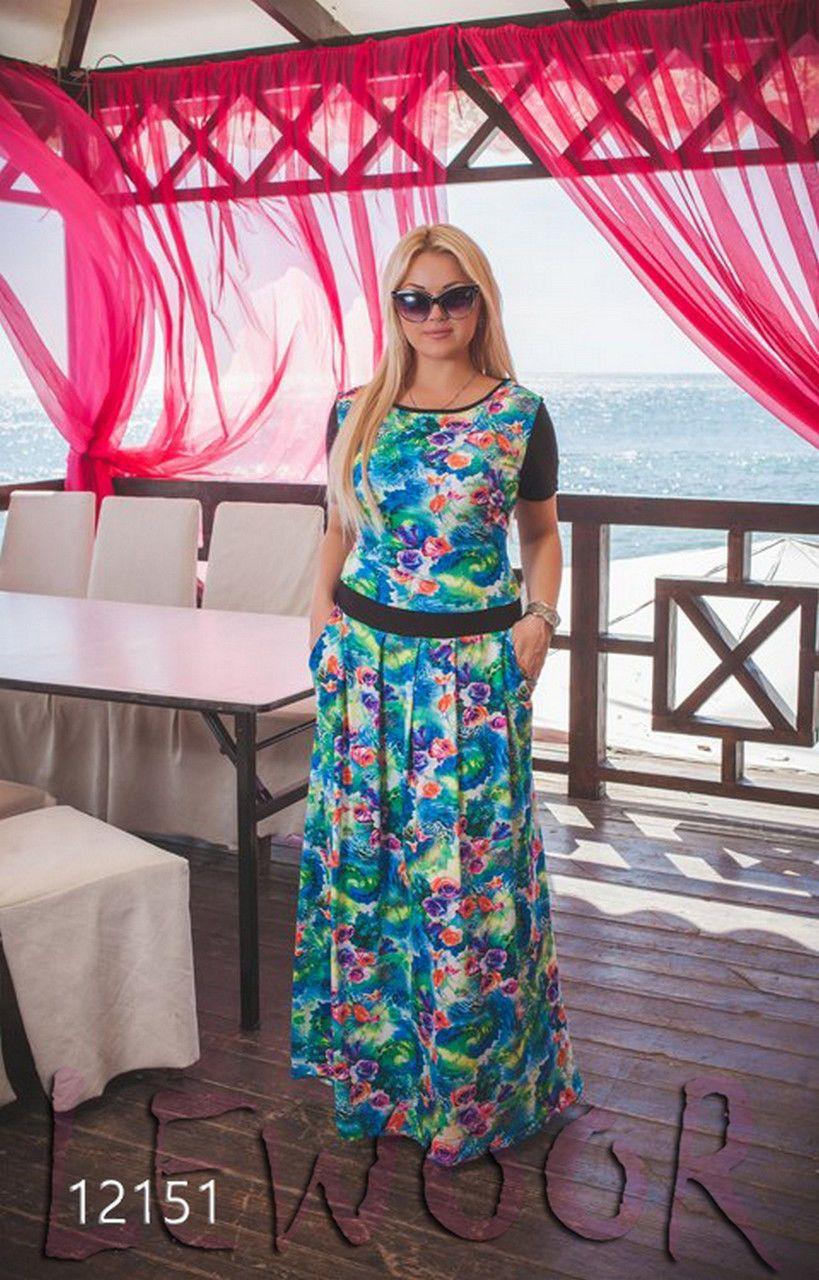 Красивое платье больших размеров (XL+) - купить оптом и в ...