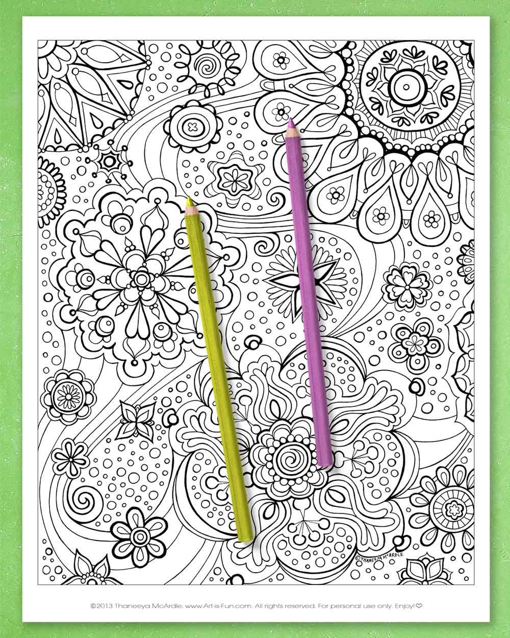 Abstract Coloring Pages Printable E Book Of Groovy Abstract Designs For You To Color Art Is Fun In 2020 Abstract Coloring Pages Coloring Pages Mandala Coloring Pages