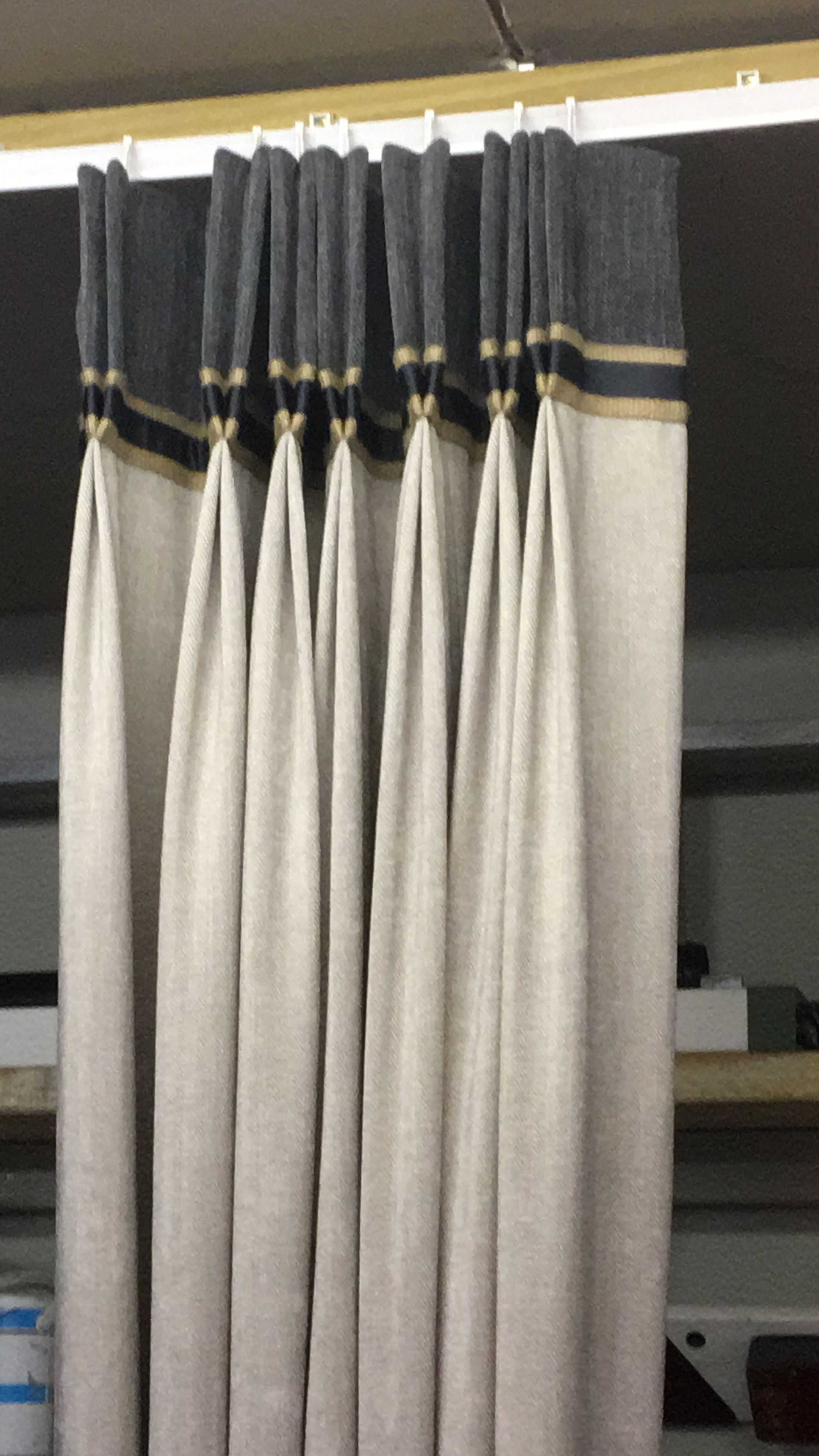 Add Banding To Your Window Treatments For Some Added Interest And