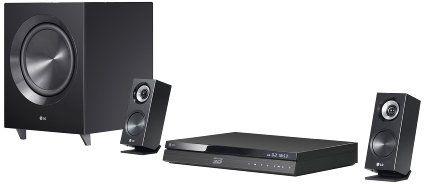 LG BH7220C 3D-Blu-ray 2.1 Heimkinosystem mit WLAN, Smart TV und umfangreicher Formatunterstützung (DivX HD, DLNA, 2x HDMI, USB)