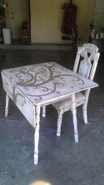 Drop Leaf Table I Painted Painted Kitchen Tables