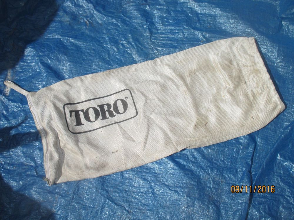 Toro Cipper Vac Bag Vac Bed Pillows Electric Leaf Blowers