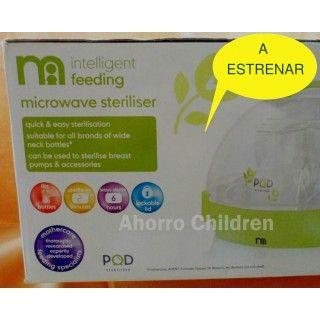 Esterilizador de biberones Mothercare 12.95€ A ESTRENAR, NUEVO www.ahorrochildren.es