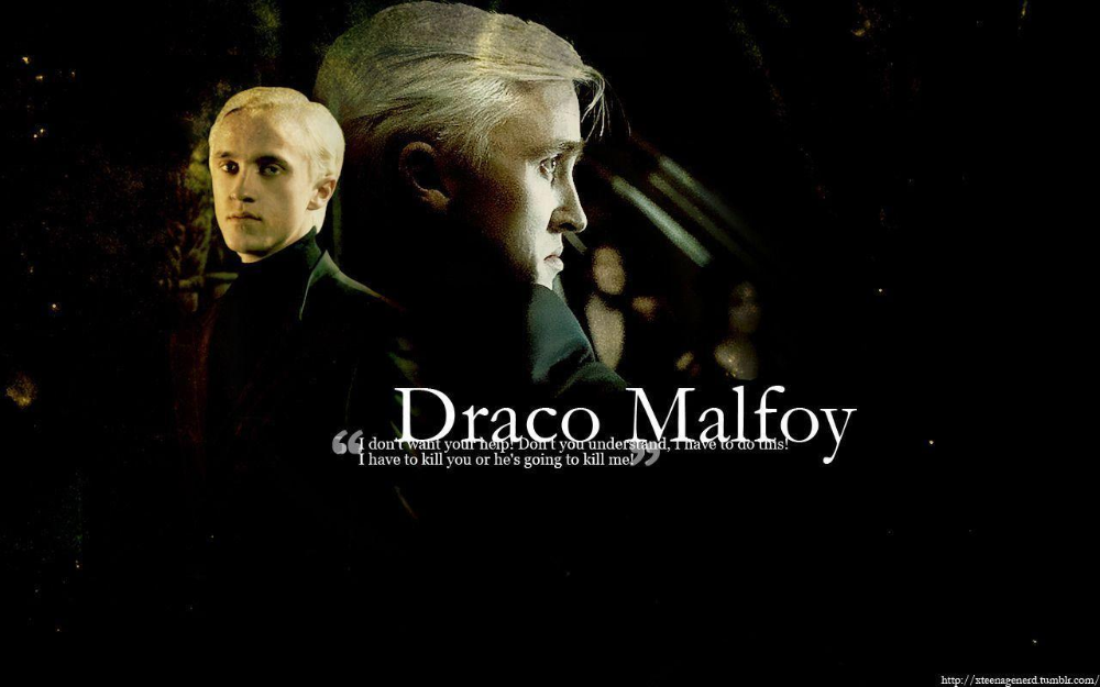 Draco Malfoy Wallpapers Wallpaper Cave