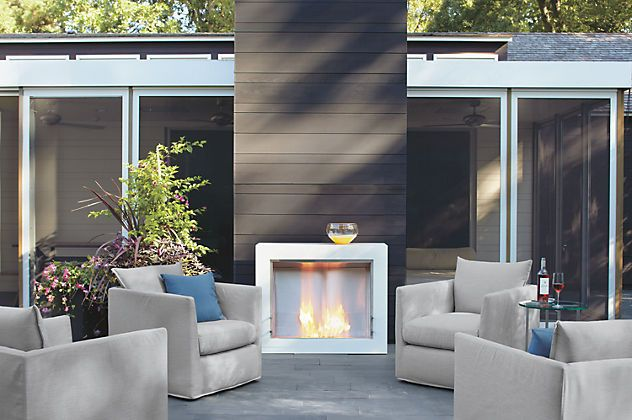 """EcoSmart Synergy Aspect Fireplace"": Cool outdoor living ... on Synergy Outdoor Living id=55160"