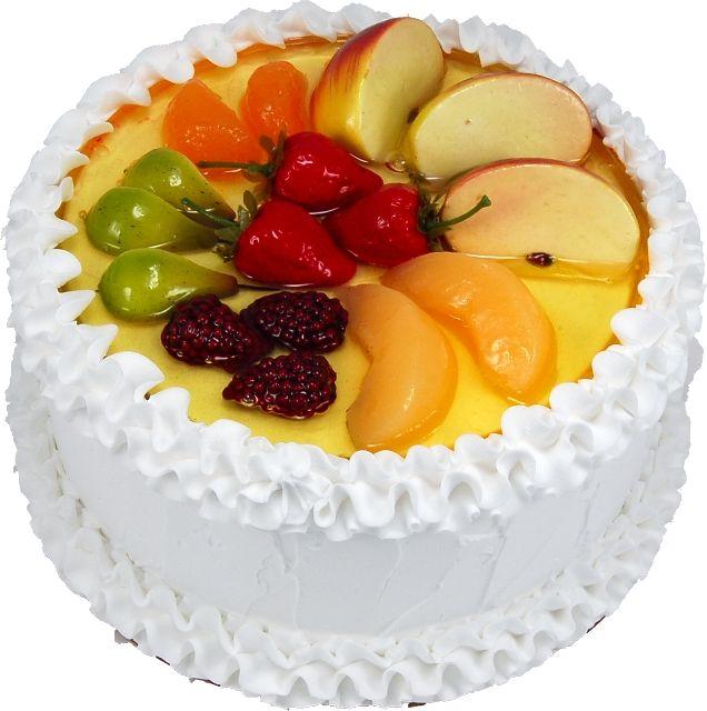 Chinese Sponge Cake Bolo Decorado Com Frutas Bolos Decorados Bolo
