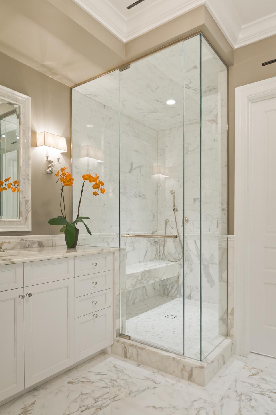 How Much Do Remodels Cost Glass Shower Add A Bathroom Marble