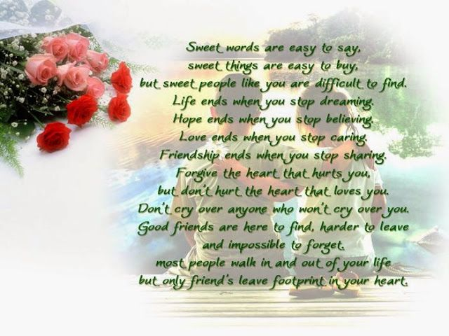 Happy Birthday Message Good Friend ~ Happy birthday wishes quotes for best friend sad poetry