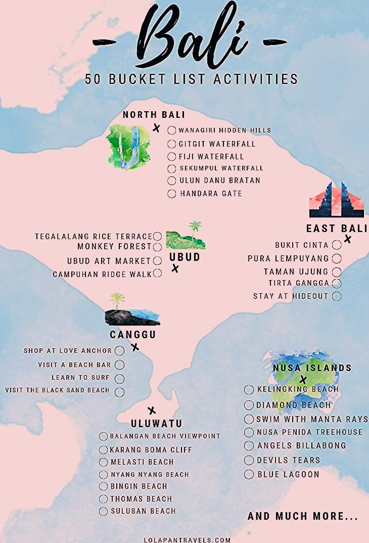 Photo of Bali Bucket List Guide – Top 50 Things You Need To Tick Off