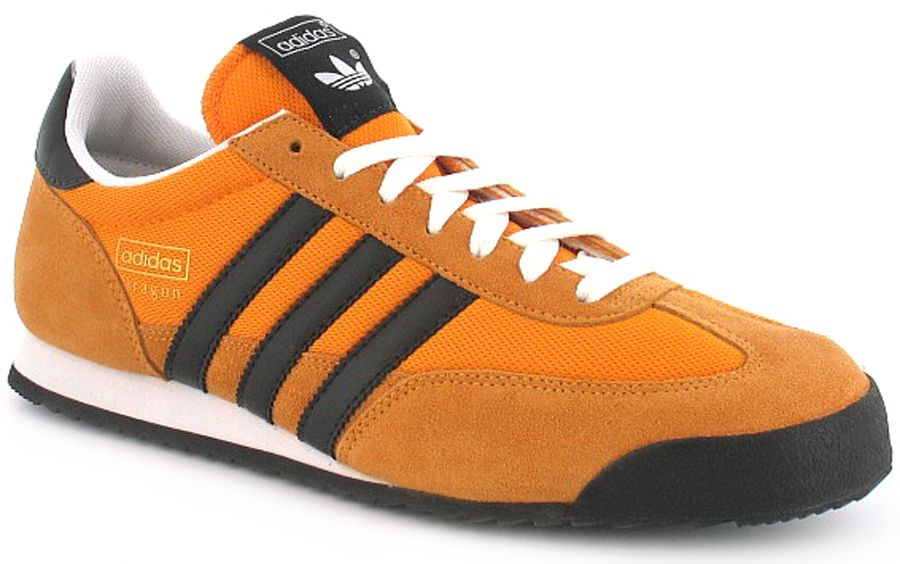 pretty nice a8433 bf7ee Adidas Originals Dragon - Orange Upper Black Detail. A classic lightweight  runner from the 70 s re-released.
