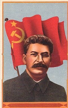 This is Joseph Stalin. He was the leader of the communist party after the revolution for an extended period of time.