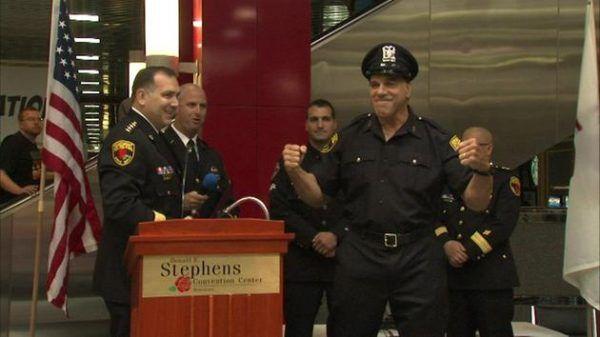 Rosemont Public Safety Department Honors Lou Ferrigno