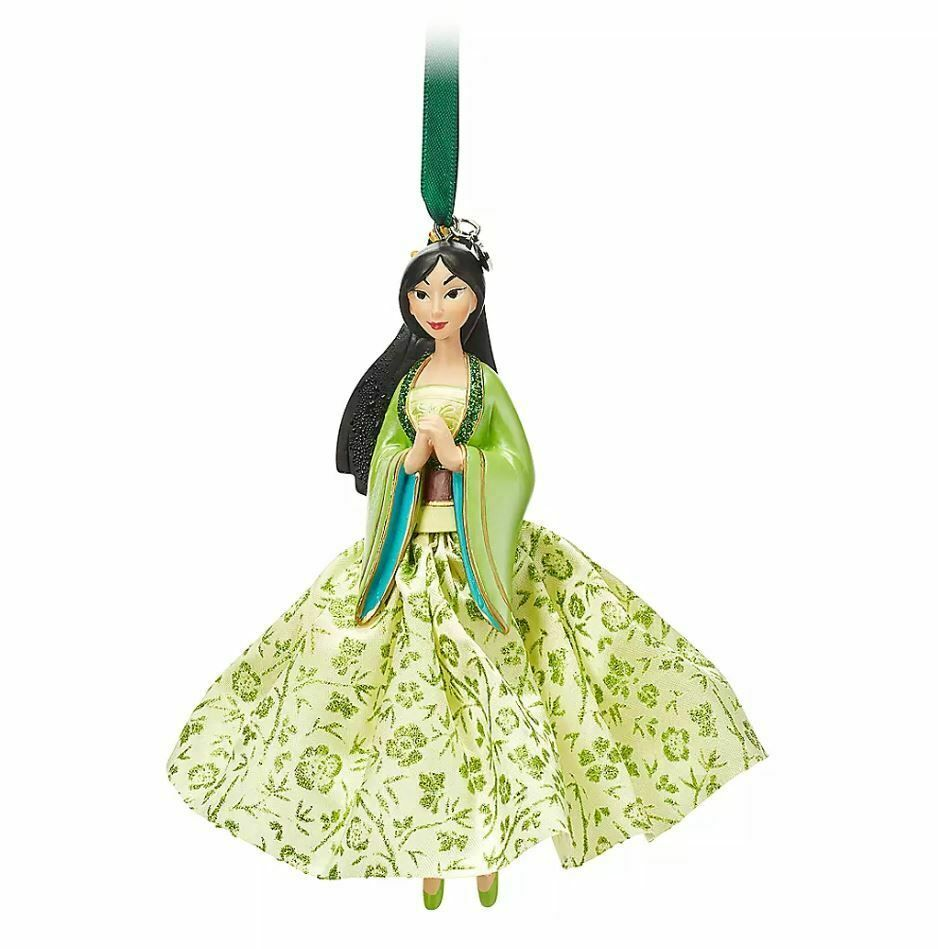 New Disney Store Tiana Sketchbook Ornament Christmas 2019 Princes and the Frog