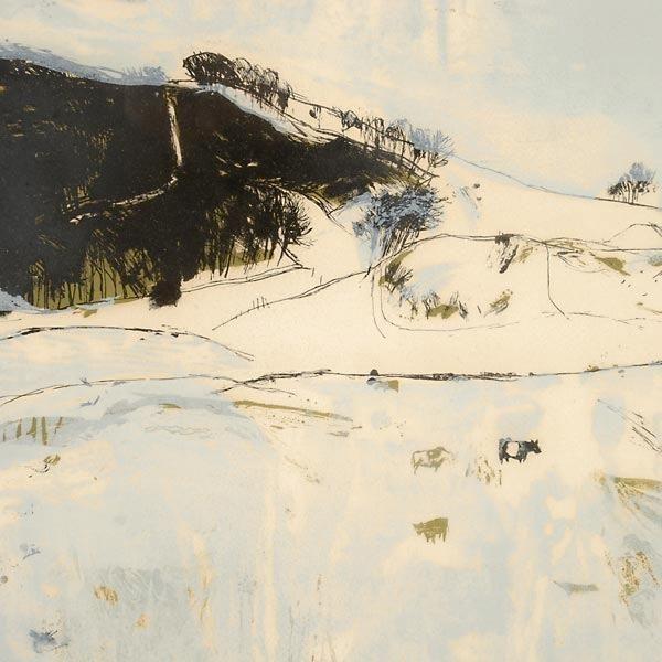 Elizabeth Blackadder Landscape Drawings Landscape Artist Landscape Artwork
