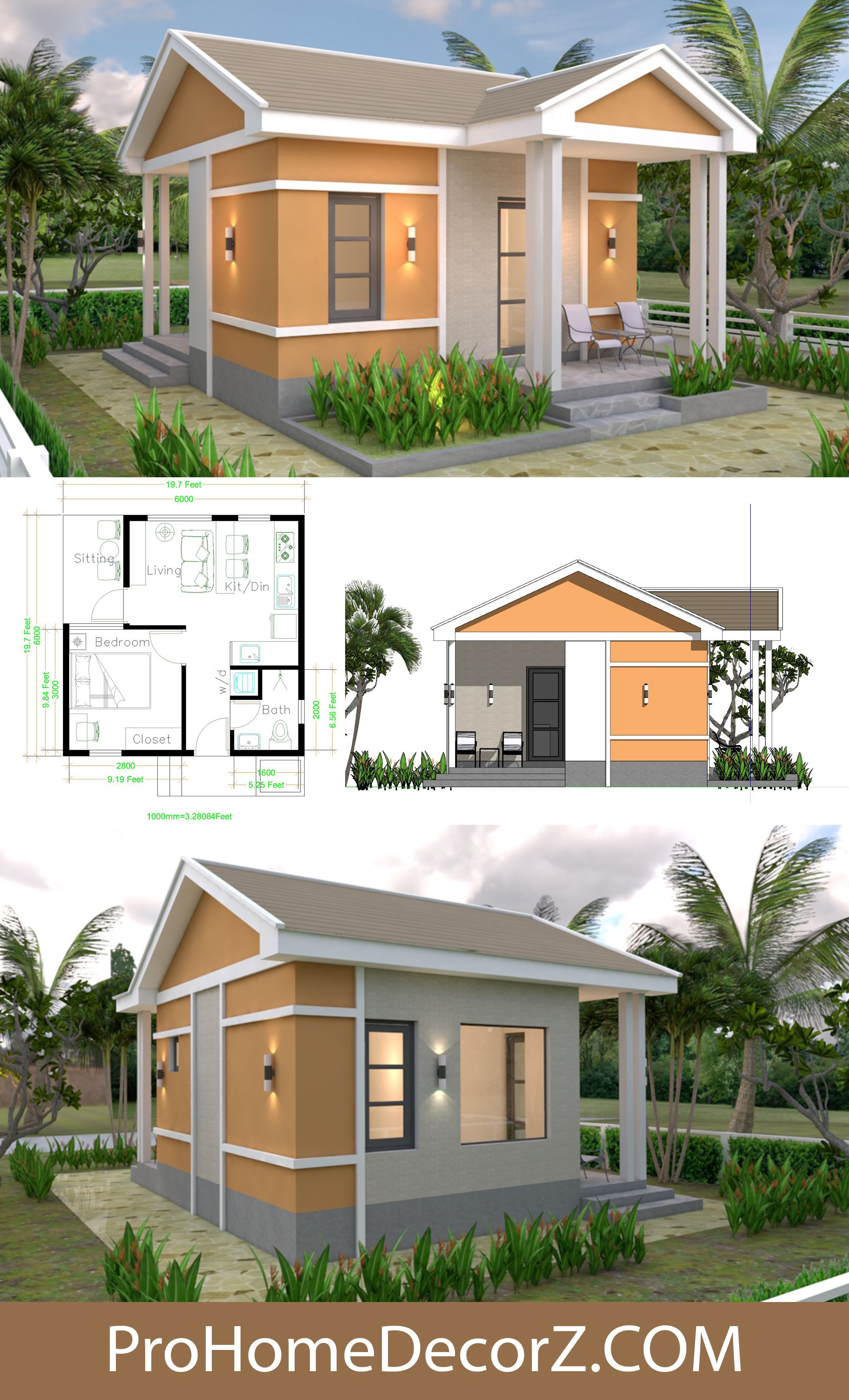 Small Mansion 6x7 5 With Gable Roof In 2020 Small Mansion Gable Roof House Gable Roof