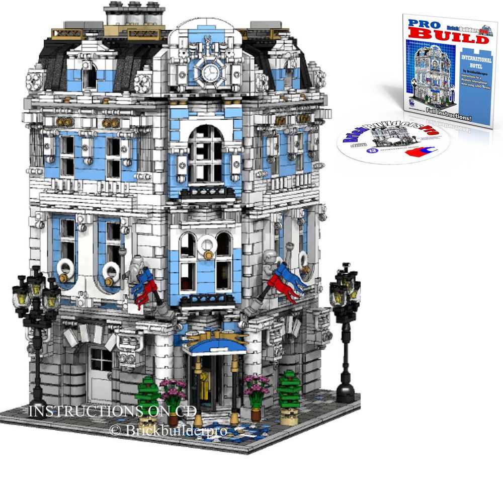 LEGO Custom Modular Cathedral Instructions CD