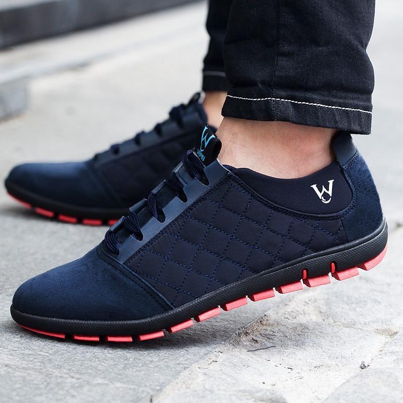 Spring/Summer Men Shoes Breathable Mens