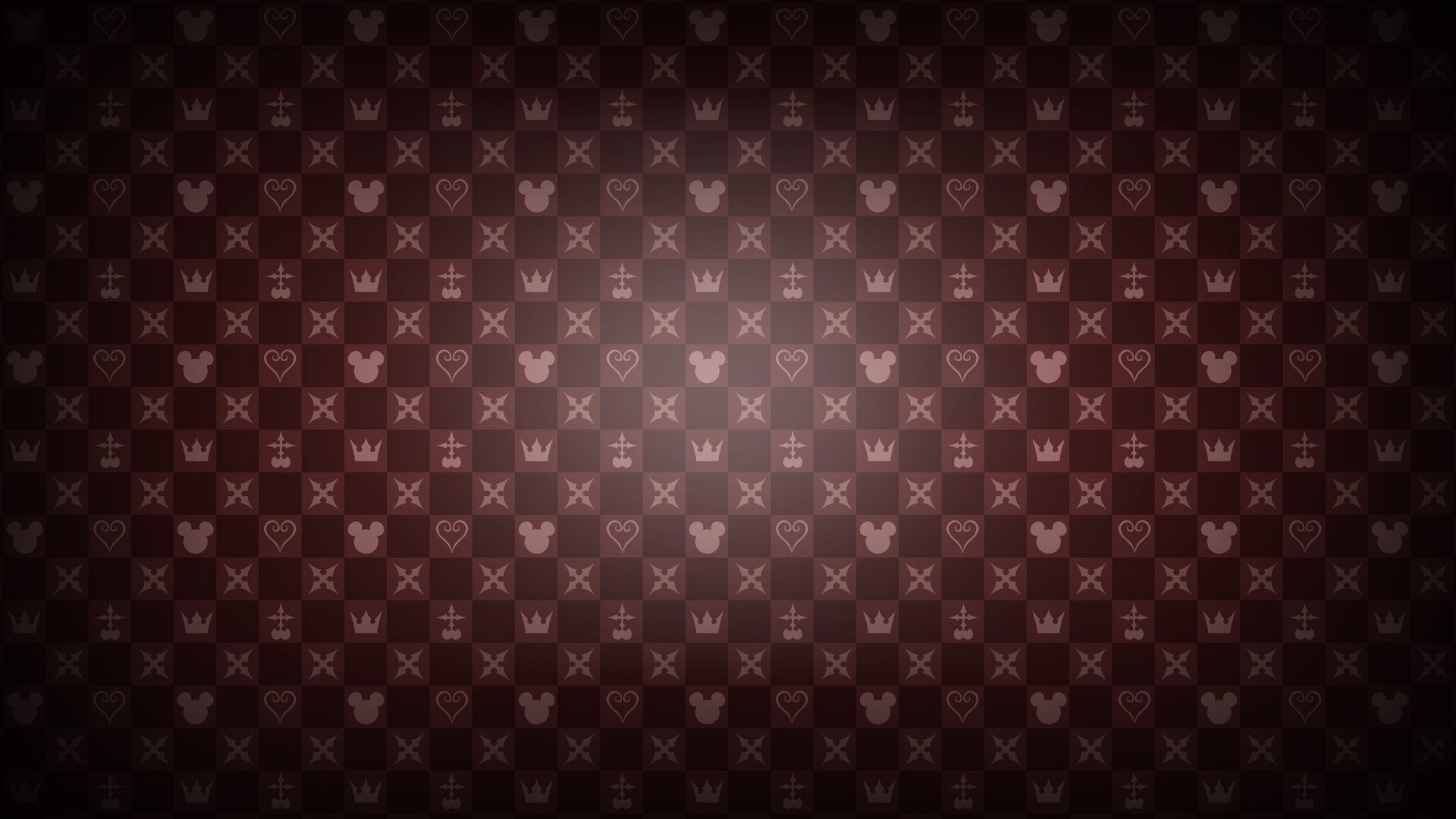 Download Wallpapers Download 2560x1440 Kingdom Hearts Minimalistic Red Patterns Mosaic Mickey Mouse He Kingdom Hearts Wallpaper Kingdom Hearts Heart Wallpaper