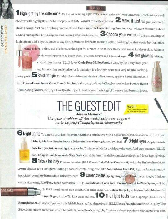 Makeup tips: Highlighting