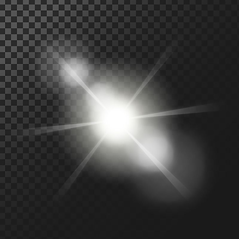 Vector Illustration Of A White Glowing Light Effect Vector And Png In 2020 Light Icon New Background Images Abstract Waves