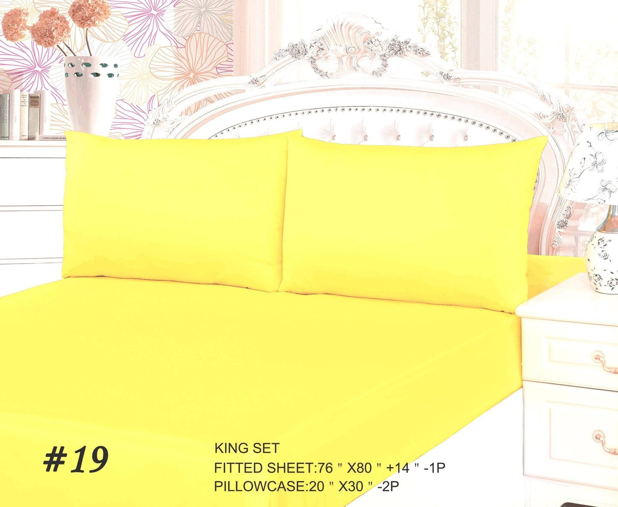 Pcs peter pan bedding set duvet cover fitted sheet pillow case worl - Tache 2 3 Piece Banana Yellow Bed Sheet Set Fitted Sheet