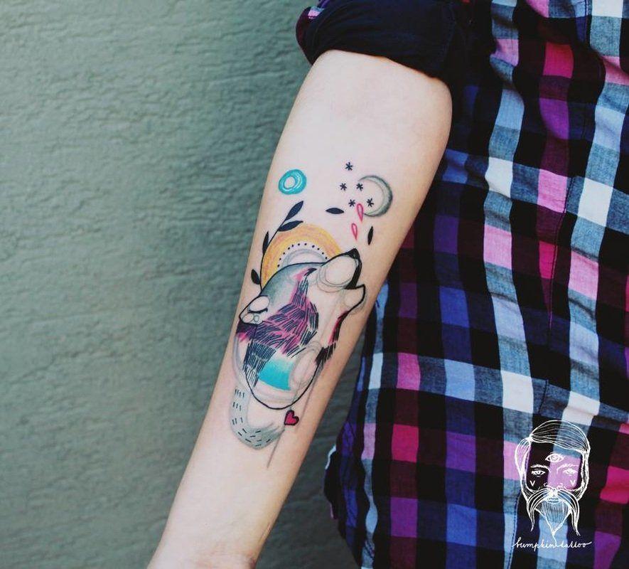 Tatuajes de lobos, las mejores fotos de la web! Tatuajes de lobo