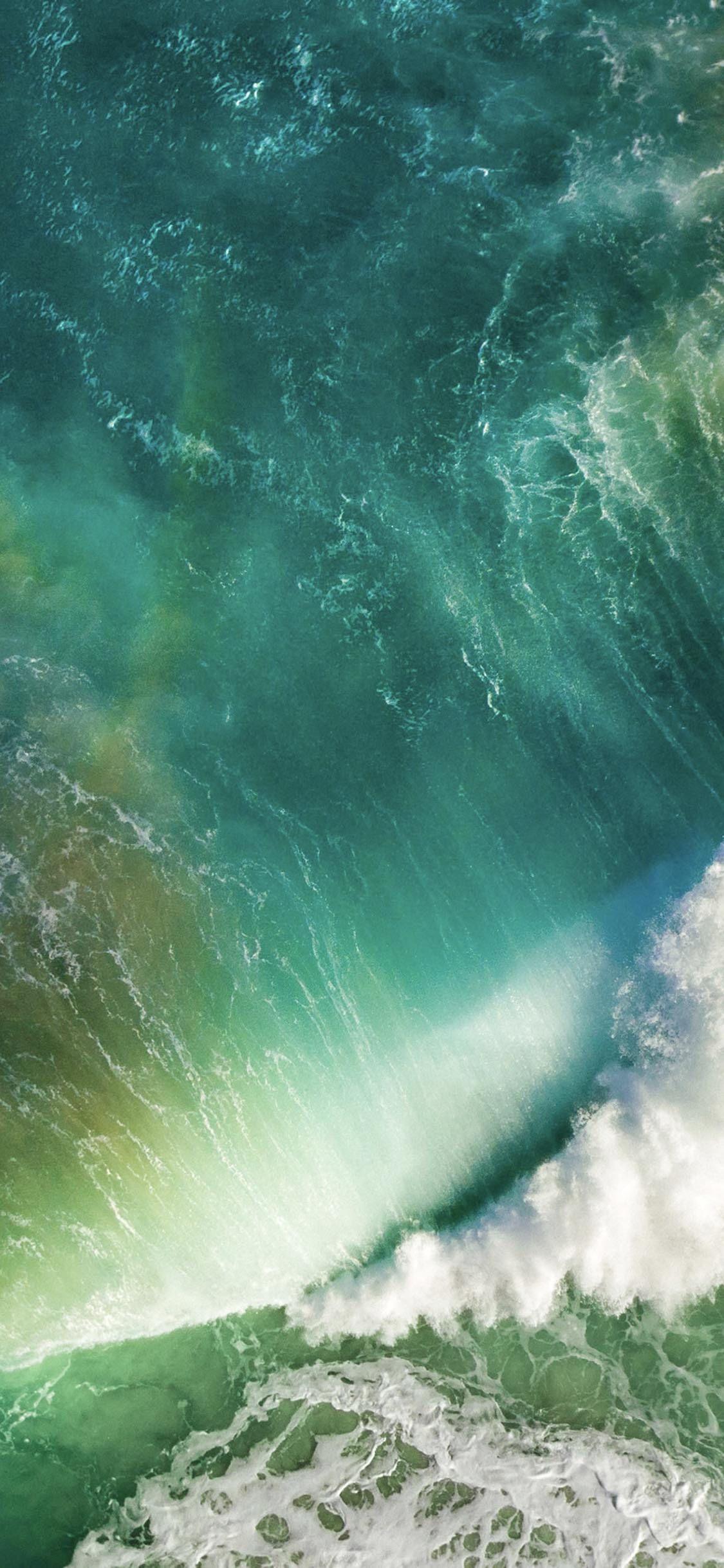 Ios10海波青 Wallpaper Sc Iphonexs壁紙 美しい自然の風景 Iphone