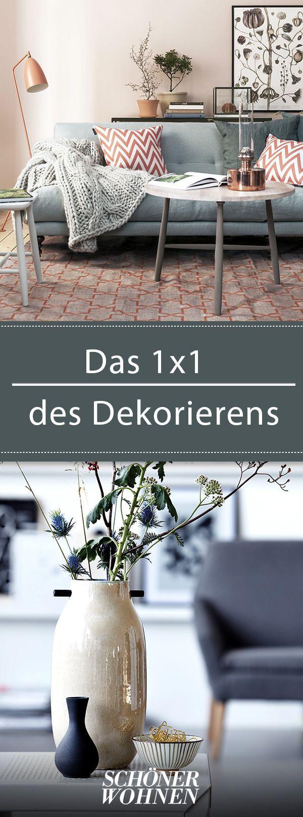 das 1x1 des dekorierens farbwelt der einrichtung betonen einrichten wohnen pinterest. Black Bedroom Furniture Sets. Home Design Ideas