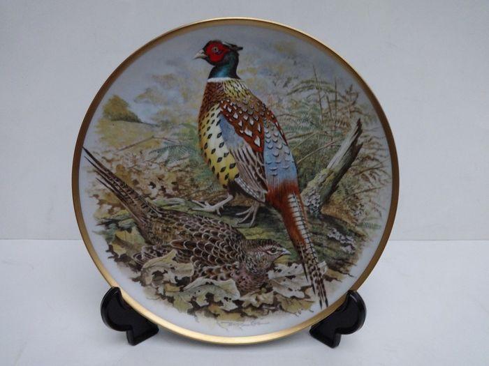 Franklin Mint Gamebirds of the World By Basil Ede - een set van 12 porseleinen borden.