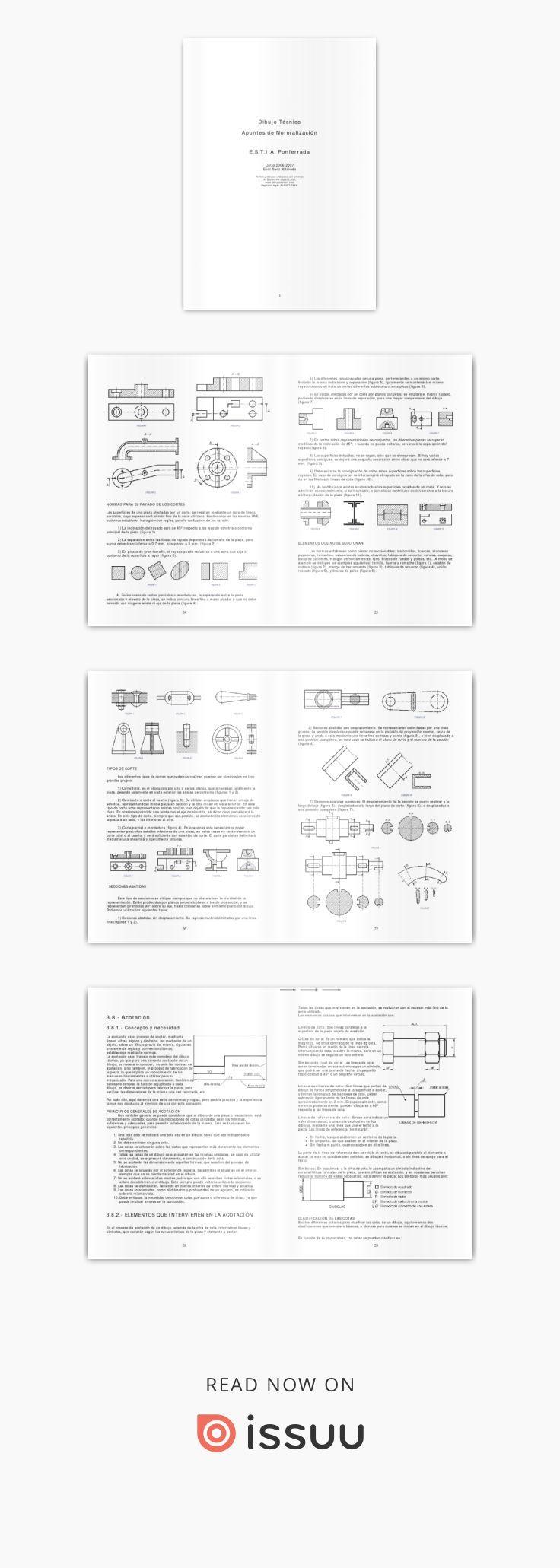 Apuntes De Dibujo Tecnico Normalizacion Y Vistas Tecnicas De Dibujo Apuntes Palabras
