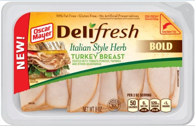 NEW Oscar Mayer Deli Fresh BOLD Lunch Meats! #DeliFreshBOLD #spon