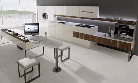 Wood Mixed With Other Materialsbright Kitchen  Vintage Modern Fascinating Kitchen Design Sheffield Design Inspiration
