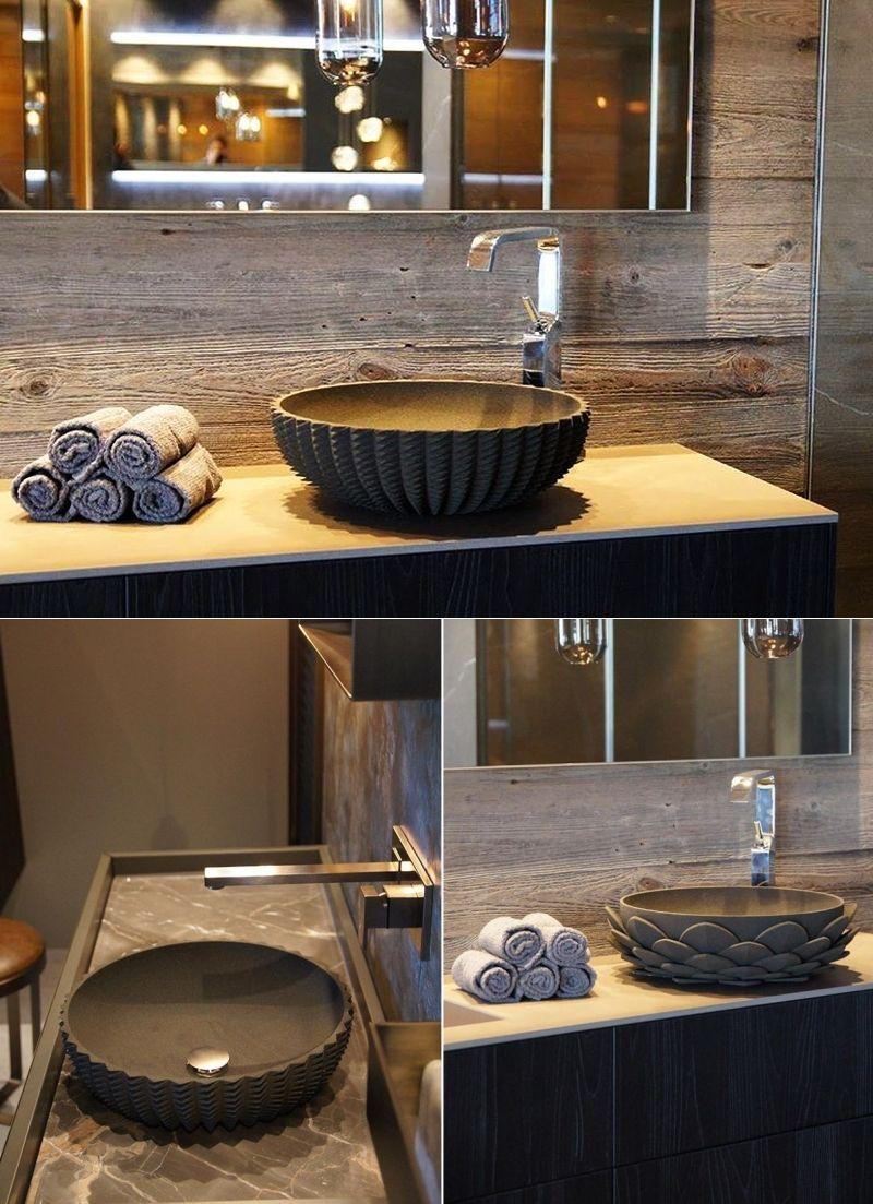 Sandhelden brings 3D-printed sand washbasins to life | Bathroom ...