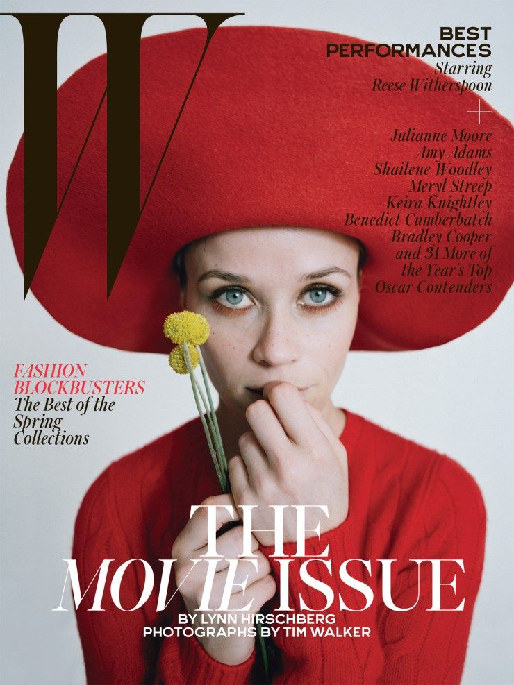 Typography for W Magazine