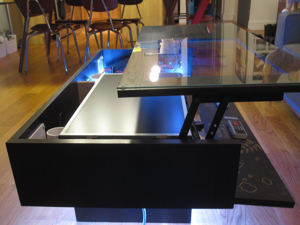 My Ramvik Arcade Table With Lift And Lock Table Top Arcade